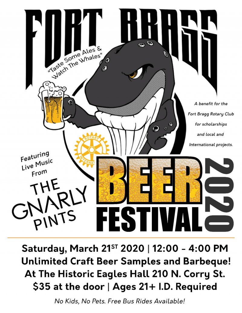 Beer Festival is a fun event during Whale Festival